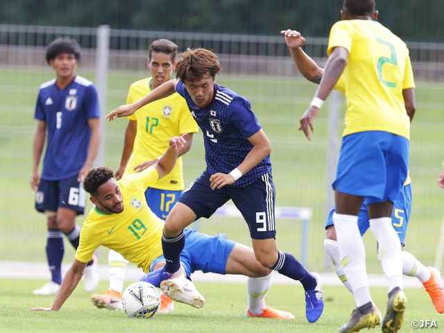 U-22 Japan National Team finishes as runners-up after losing to Brazil in penalty shootouts at the 47th Toulon International Tournament 2019