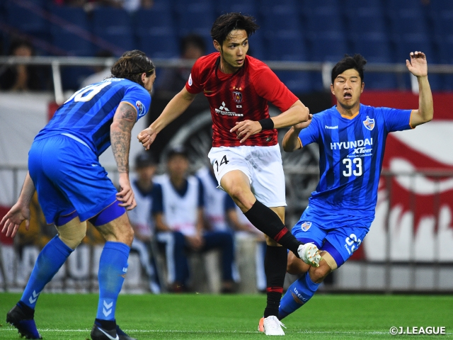 Urawa drops 1st leg at home to Ulsan at the Round of 16 - AFC Champions League 2019