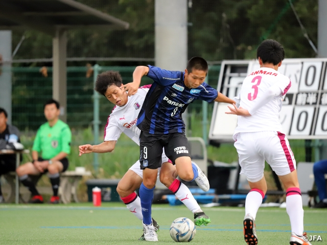 Gamba Osaka Remains Atop After Winning The Osaka Derby In The 7th Sec Of The Prince Takamado Trophy Jfa U 18 Football Premier League West Japan Football Association
