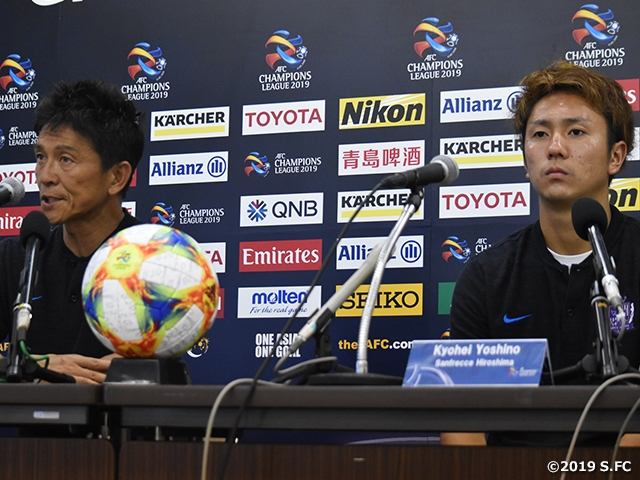 Sanfrecce Hiroshima and Kashima Antlers clashes to earn seat at the Quarterfinals - AFC Champions League 2019