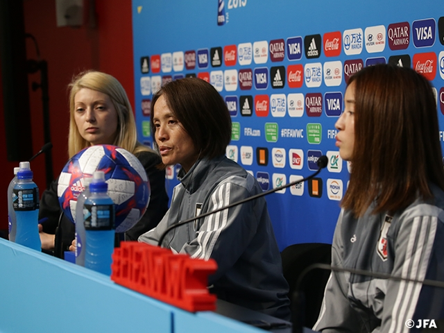 Nadeshiko Japan to face Netherlands at the Round of 16 - FIFA Women's World Cup France 2019