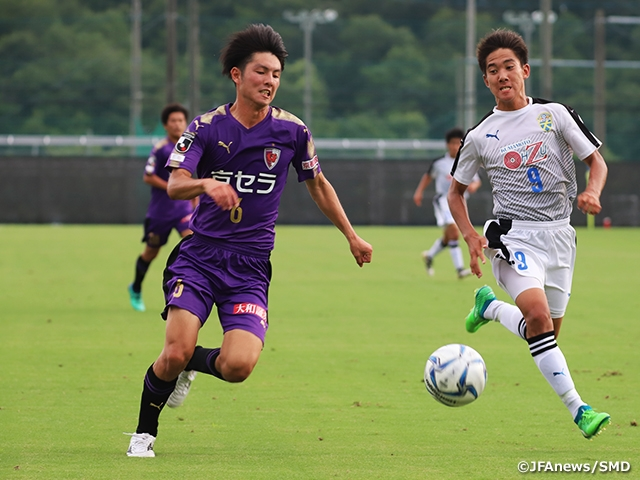 Kyoto earns back-to-back wins against top teams of the league at the 9th Sec. of the Prince Takamado Trophy JFA U-18 Football Premier League WEST