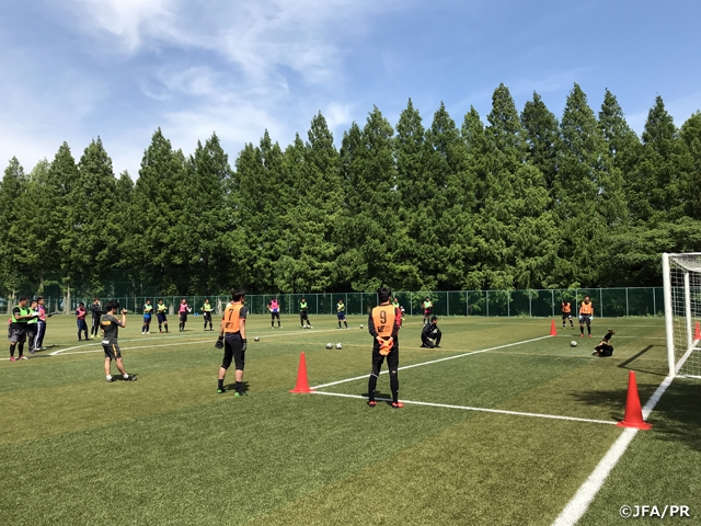 The 2nd course of the B-Licence Goalkeeper Coaching Course 2019 held in Shizuoka