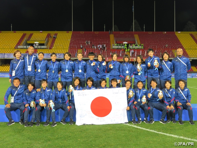 Japan Women's Universiade National Team finishes as runners-up after losing to DPR Korea at the Final of the 30th Summer Universiade Napoli 2019