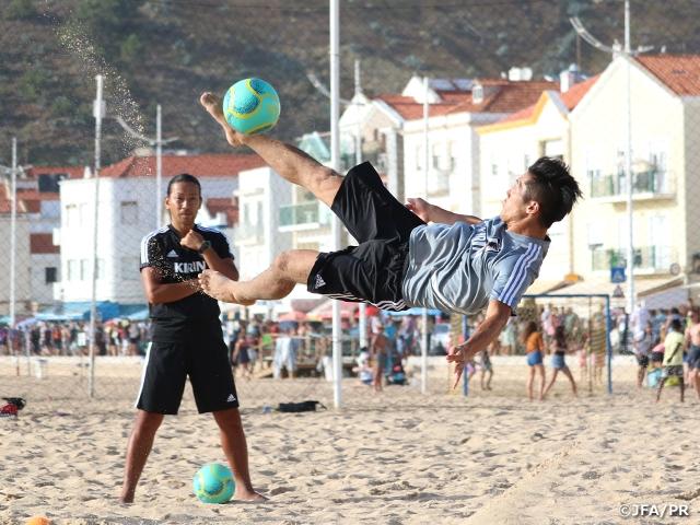 ビーチサッカー日本代表、ポルトガルへ到着 ~ポルトガル遠征(8/8~17@ポルトガル/ナザレ)BSWW Mundialito Nazare 2019
