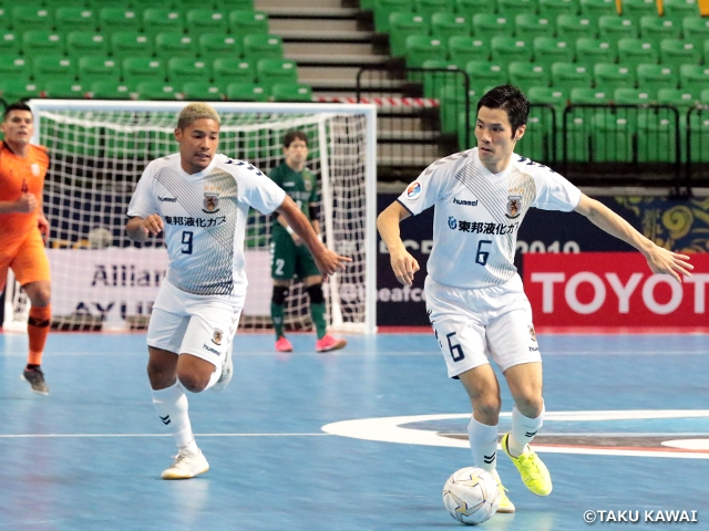 Nagoya Oceans defeats defending champion to advance to Quarterfinals at the AFC Futsal Club Championship Thailand 2019