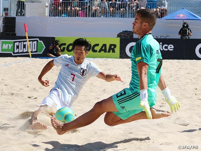 ビーチサッカー日本代表ポルトガル遠征 大会初戦 スペインに先制するも2-4で敗れる ~BSWW Mundialito Nazare 2019
