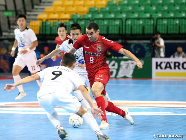 Nagoya Oceans advances to Final with win over Thai Son Nam at the AFC Futsal Club Championship Thailand 2019