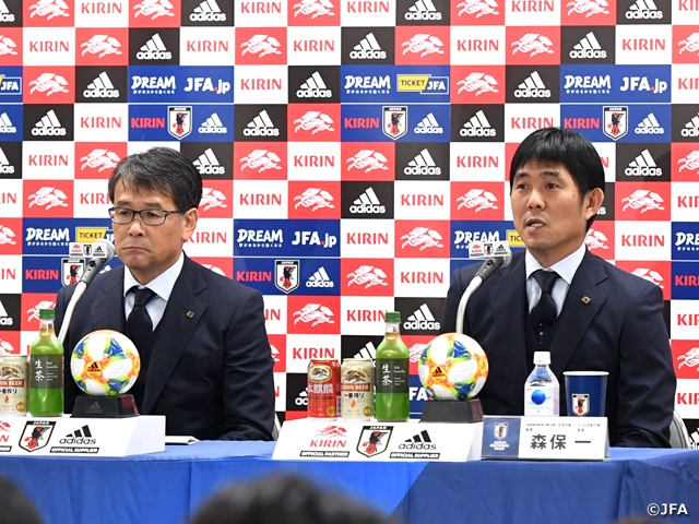 "Coach Moriyasu of SAMURAI BLUE shares aspiration ahead of World Cup Qualifiers ""We will prepare ourselves well to get off to a good start"""