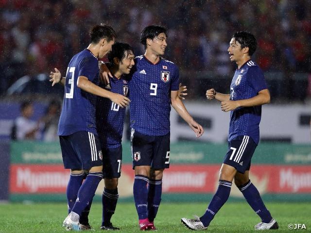 SAMURAI BLUE、中島選手と南野選...