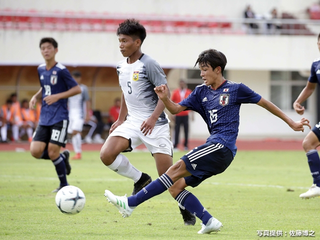 U-15 Japan National Team earns victory in crucial first match of the AFC U-16 Championship 2020 qualification