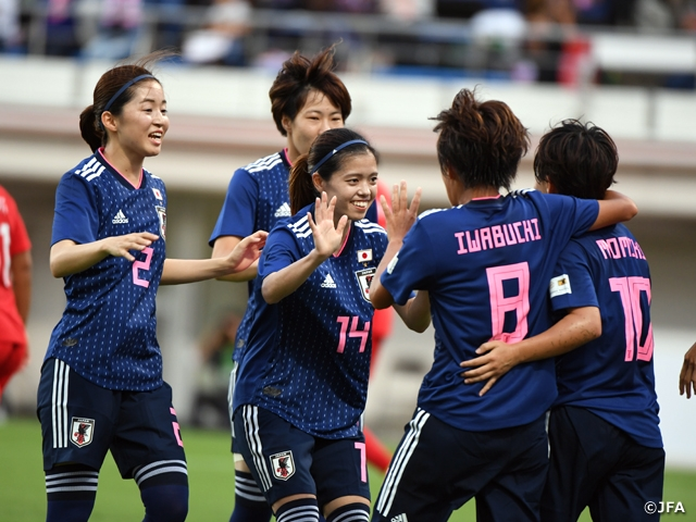 Nadeshiko Japan gets off to a great start towards the Olympics with 4-0 victory over Canada in an International Friendly Match