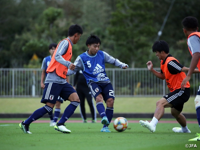 U-17 Japan National Team starts training camp ahead of the FIFA U-17 World Cup Brazil 2019