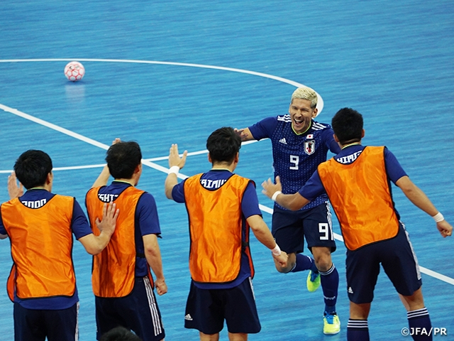 Japan Futsal National Team registers 17 goals in victory over Macau at the AFC Futsal Championship Turkmenistan 2020 Qualifiers (10/15-28 @Ordos City, China PR)