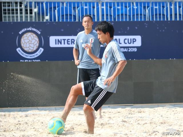 ビーチサッカー日本代表インターコンチネンタルカップに向けて活動をスタート