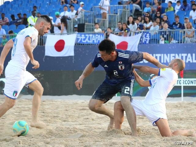 ビーチサッカー日本代表、強豪イタリアに逆転勝利 ~インターコンチネンタルカップ