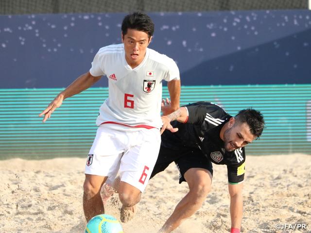 ビーチサッカー日本代表、インターコンチネンタルカッププレーオフ、メキシコ代表に逆転勝利