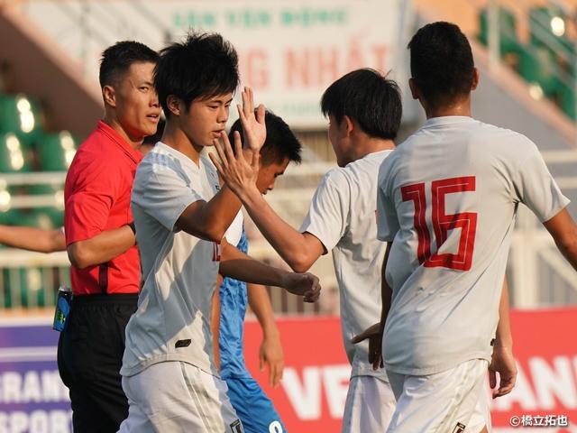 U-18日本代表AFC U-19選手権 2連勝で予選突破を掛けてベトナム戦へ!