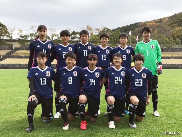 U-16日本女子代表候補 国内合宿を岡山県美作市でスタート