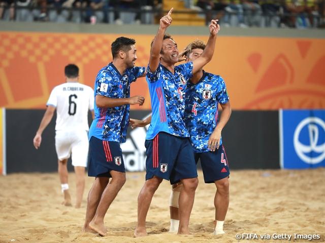 9大会ぶり2度目の準決勝進出 ~FIFAビーチサッカーワールドカップパラグアイ2019