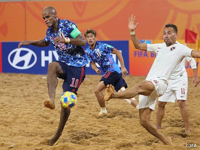日本代表、決勝進出ならず。PK戦の末、ポルトガルに惜敗。3位決定戦へ。 ~FIFAビーチサッカーワールドカップパラグアイ2019