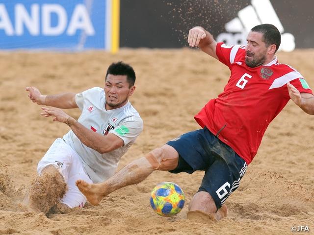 過去最高位に並ぶ4位で大会を終える。茂怜羅オズ選手が大会MVPに ~FIFAビーチサッカーワールドカップパラグアイ2019