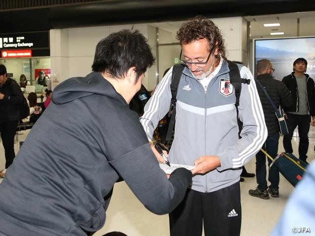 ビーチサッカー日本代表がワールドカップ開催地パラグアイから帰国