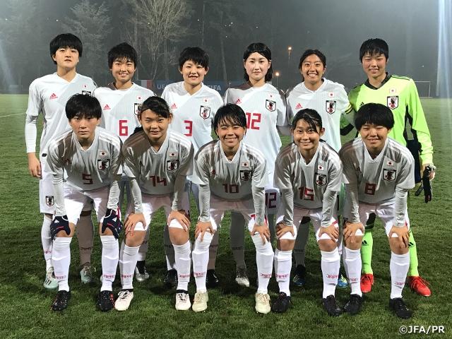U-17日本女子代表フランス遠征 U-17フランス女子代表に1-0で勝利