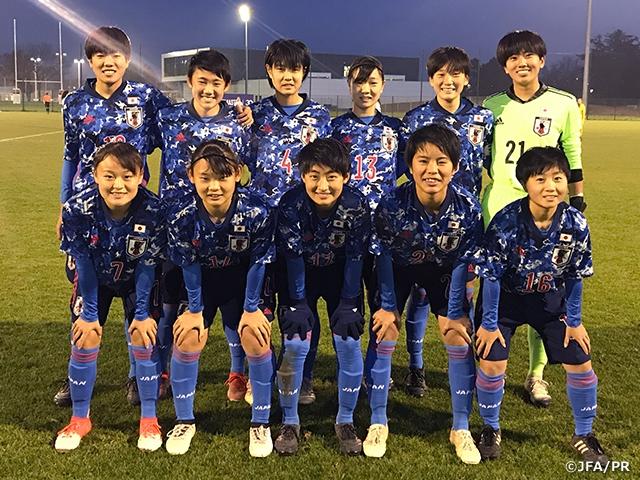 U-17日本女子代表 フランス遠征を3連勝で終える