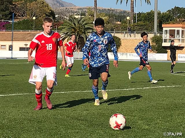 U-15日本代表 U-15ロシア代表に4-1勝利 ~SPORTCHAIN CUP ALBIR 2019~