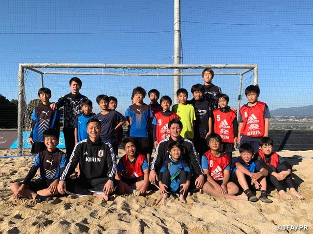 今年最後のJFAビーチサッカー巡回クリニックを熊本県で開催