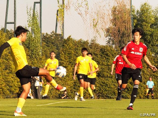 U-23日本代表、タイ1部クラブに5-0で勝利~AFC U23選手権タイ2020(1.8~26)