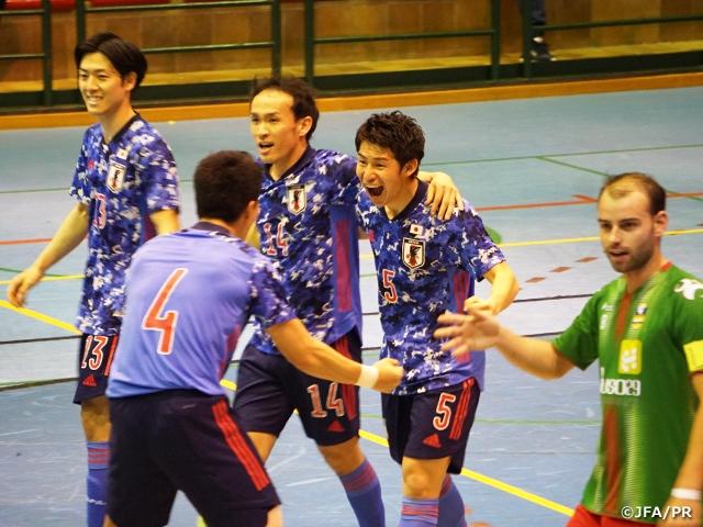 フットサル日本代表 スペイン遠征、最後の強化試合を5-1で勝利【海外遠征(1/28-2/8@スペイン)】