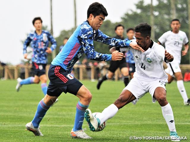 U-17日本代表 U-19東ティモール代表との決勝戦を制し優勝~JENESYS2019 青少年サッカー交流大会~