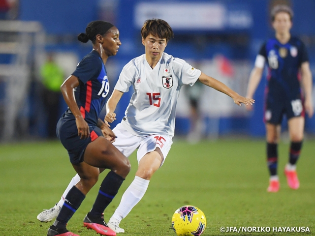 Nadeshiko Japan lose to USA to conclude tournament with 3 consecutive losses - 2020 SheBelieves Cup