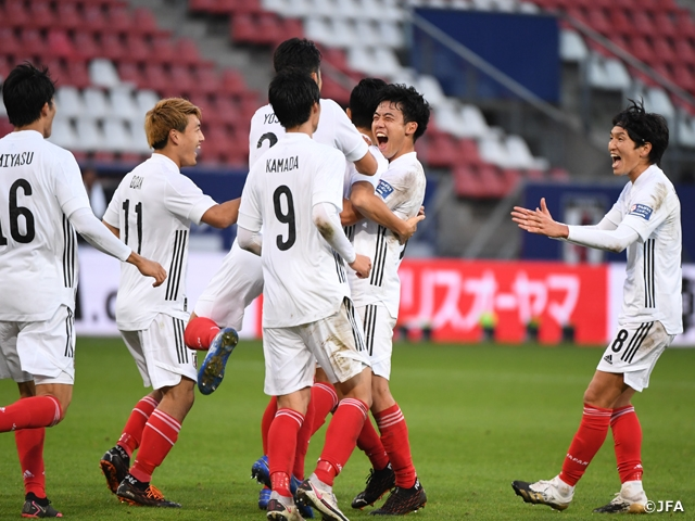 SAMURAI BLUE win over Cote d'Ivoire with late goal scored by Ueda