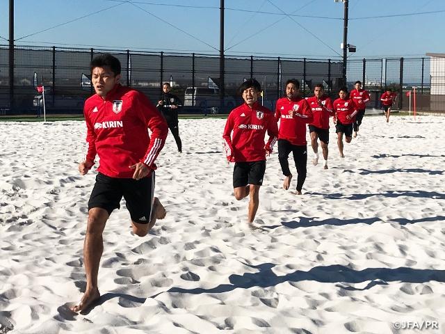 ビーチサッカー日本代表候補、2度目の国内合宿がスタート