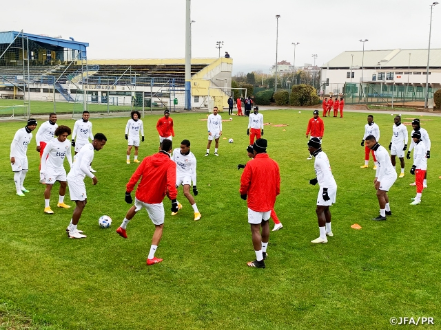 Panama National Team starts training ahead of International Friendly Match at Graz, Austria
