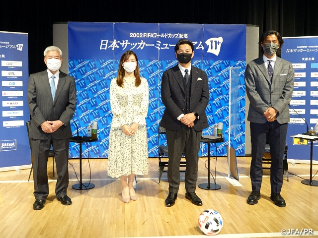 "Online Talk-show ""Japan must compete like this in 2021"" held with Mr. JO Shoji and Mr. NAKAZAWA Yuji as guests - Japan Football Museum"