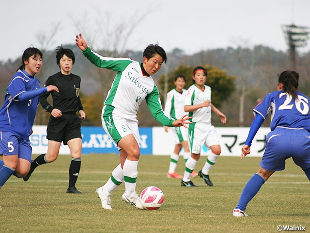 Sakuyo and Seisa Kokusai advance to second round of the 29th All Japan High School Women's Football Championship