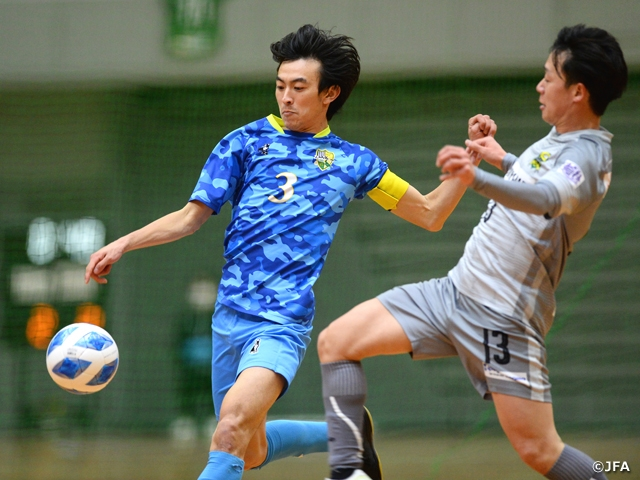 Regional side Dele Yaone Gifu advance to third round after defeating F2 club at the JFA 26th Japan Futsal Championship