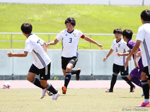 U-15日本代表候補 静岡での活動終了