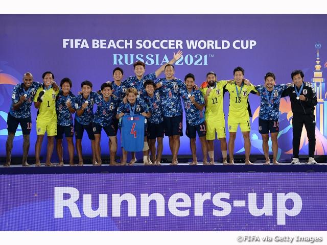 ビーチサッカー日本代表、開催国ロシアにリベンジならず…過去最高の2位で大会を終える FIFAビーチサッカーワールドカップロシア2021
