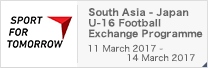 SPORT FOR TOMORROW South Asia - Japan U-16 Football Exchange Programme