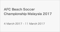 AFC Beach Soccer Championship Malaysia 2017