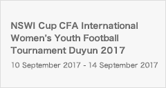 NSWI Cup CFA International Women's Youth Football Tournament Duyun 2017