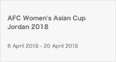 [NJ]AFC Women's Asian Cup Jordan 2018
