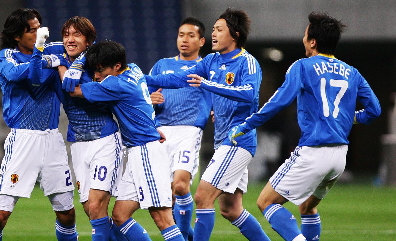 日本代表ワールドカップ予選激闘...
