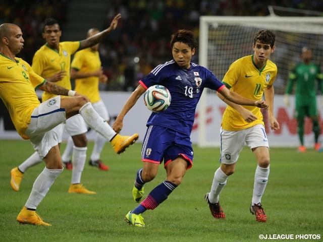 新体制初の海外試合、ブラジルに4失点 ~国際親善試合~|JFA|公益 ...
