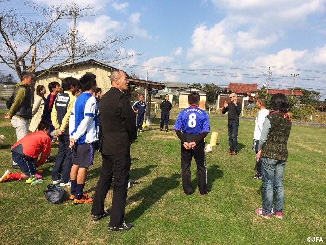 The session 3 of JFA Sports Managers College (SMC) held in Tottori